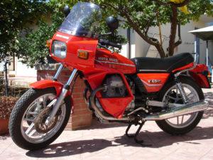 Moto Guzzi V65 SP - dieci moto più brutte della storia